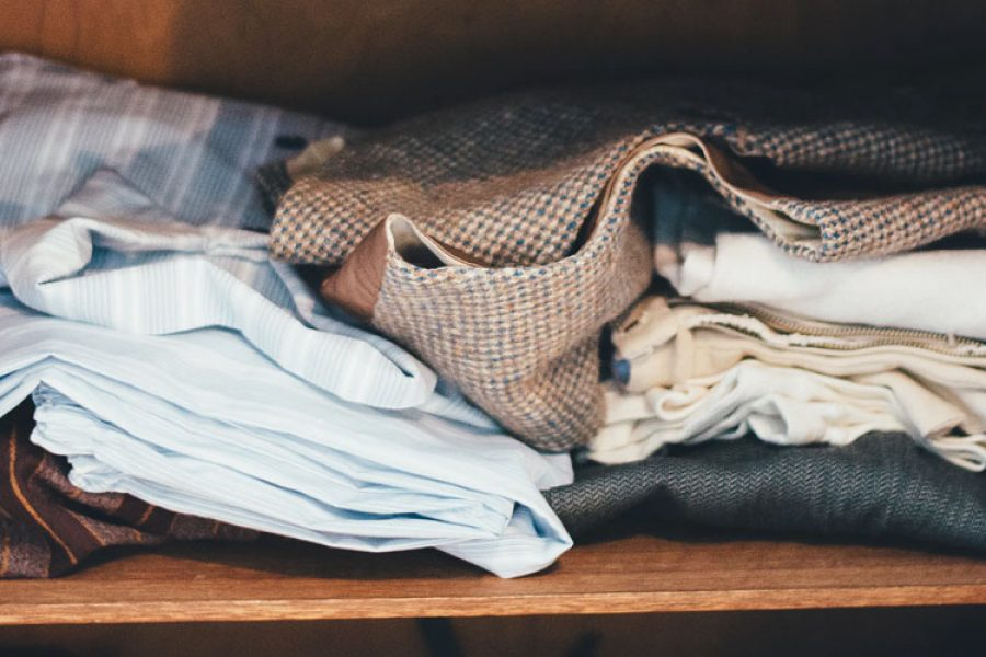 What options I have to reduce the impact of clothes I don't want?